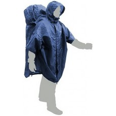 Плащ от дождя Terra Incognita CapeBag XXL-XXXL синий