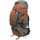 Рюкзак Terra Incognita Discover 55L оранжевый / серый