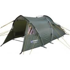 Двухместная палатка Terra Incognita Era 2+1 Alu тёмно-зелёный