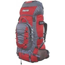 Рюкзак Terra Incognita Fronter 70L красный / серый