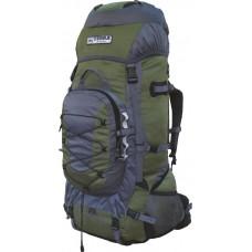 Рюкзак Terra Incognita Fronter 90L зелёный / серый