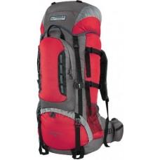 Рюкзак Terra Incognita Mountain 65L красный / серый