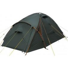 Двухместная палатка Terra Incognita Ksena 2+1 тёмно-зелёный