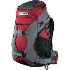 Рюкзак Terra Incognita Nevado 40L красный / серый