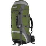 Рюкзак Terra Incognita Vertex 100L зелёный / серый