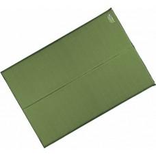 Самонадувающийся коврик Terra Incognita Twin 5 см зелёный
