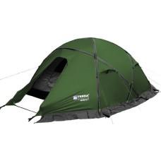 Двухместная палатка Terra Incognita Toprock 2 зелёный