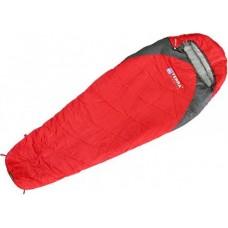 Спальник Terra Incognita Junior 200 +4° красный / серый