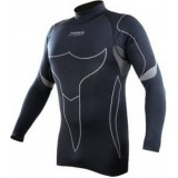 Термо-футболка Terra Incognita Borea S-M серый / чёрный