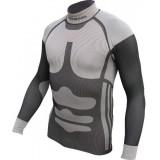 Термо-футболка Terra Incognita Magnum S-M серый / чёрный