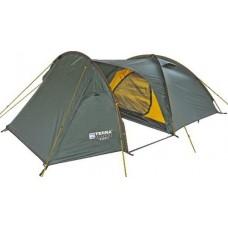 Трёхместная палатка Terra Incognita Bike 3 тёмно-зелёный