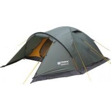 Трёхместная палатка Terra Incognita Canyon 3+1 тёмно-зелёный