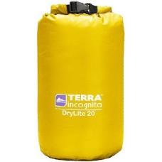 Гермомешок облегчённый Terra Incognita DryLite 20L жёлтый