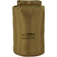 Гермомешок Terra Incognita DryPack New 20L койот