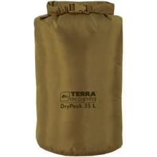Гермомешок Terra Incognita DryPack New 35L койот
