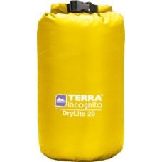 Гермомешок облегчённый Terra Incognita DryLite 40L жёлтый