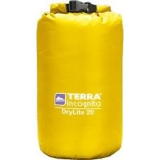 Гермомешок облегчённый Terra Incognita DryLite 5L жёлтый