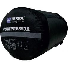 Компрессионный мешок Terra Incognita Compressor S серый / чёрный