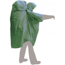 Накидка от дождя Terra Incognita PonchoBag S-M зелёный